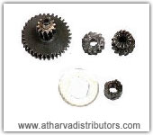 DOUBLE GEAR TVS SCOOTY, HELICAL GEAR, KICK RATCHET, BUSH PLATE LOCK ,  OLD,  NEW,  LATEST TVS SCOOTY